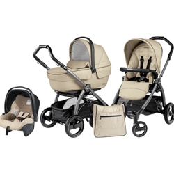 Peg Perego - Carucior 3 in 1 Book Plus S Black Sportivo