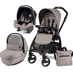 Peg Perego - Carucior 3 in 1 Book Plus Black Sportivo SL