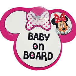 Disney Eurasia - Semn de Avertizare Baby on Board Minnie