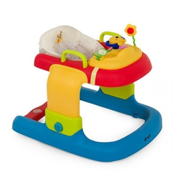 Hauck - Premergator 2 in 1 Walker Stripe Pooh Ready to Play