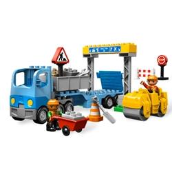Jucarii Lego Duplo - Lucrari la Drumuri