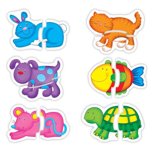 Baby Puzzle Pets - Puzzle cu Animale de Companie