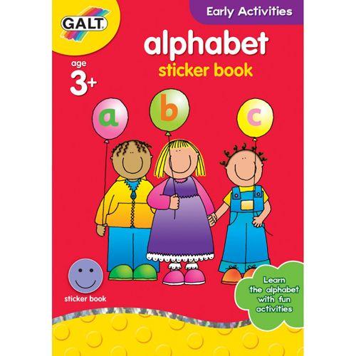 Alphabet - Carte cu Abtibilduri