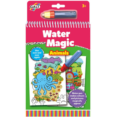 Water Magic Animals - Carte Colorat Apa Magica Animale