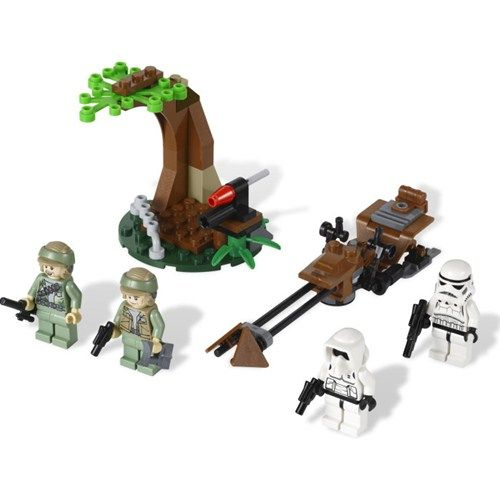 Star Wars - Endor Rebel and Imperial Trooper