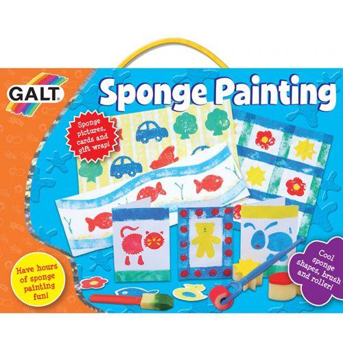 Sponge Painting - Forme din Burete pentru Pictat