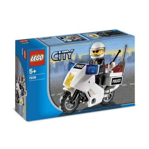 City - Motocicleta de Politie