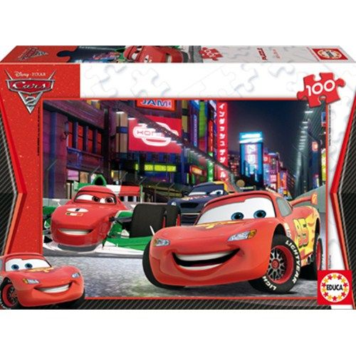 Puzzle Cars 2 - 100 piese