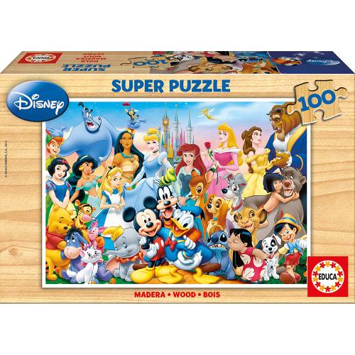 Puzzle Minunata Lume Disney 100 Piese