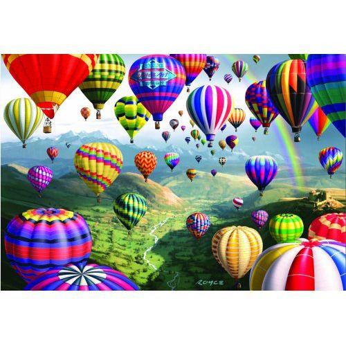 Puzzle Baloane cu Aer Cald 1000 Piese