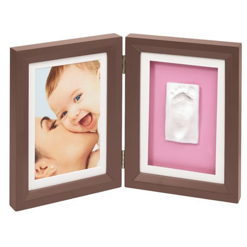 Print Frame Brown-Pink-Blue