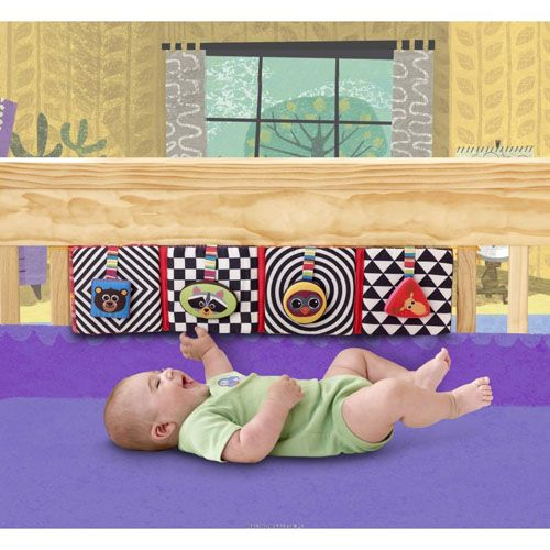 Play and Grow - Discovering Shapes Crib Gallary