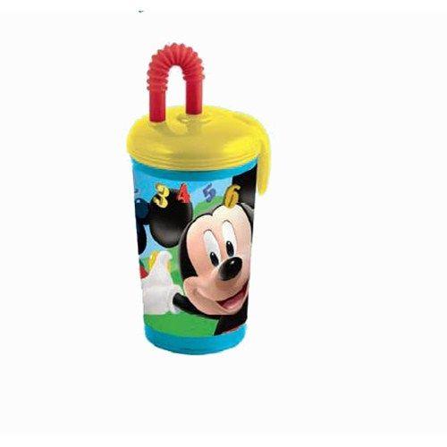 Pahar Plastic cu Pai Mickey Mouse