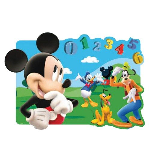 Placemat Mickey Mouse cu Efect 3D