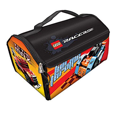 Geanta pentru Jucarii 2 in 1 ZipBin Lego Racers
