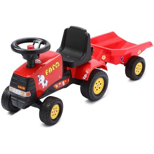 Tractoras Baby Farm cu Remorca
