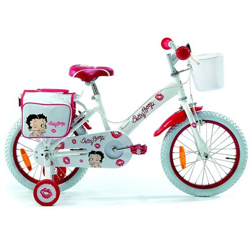 Bicicleta Betty Boop Kiss 16 Red