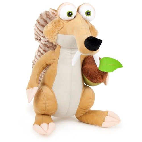 Mascota Ice Age 4 - Scrat 25 cm cu 1 aluna