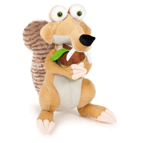 Mascota Ice Age 4 - Scrat 35 cm cu 1 aluna