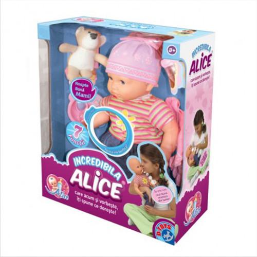 Papusa Alice Vorbitoare