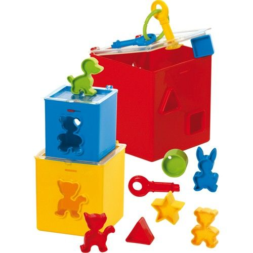 Piramida Educationala cu 3 Cuburi