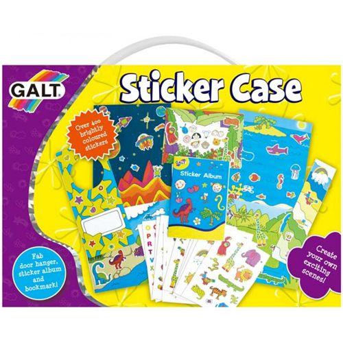 Sticker Case - Joc Interactiv cu Set de Abtibilduri