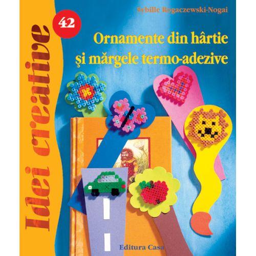 Ornamente din Hartie si Margele Termo-Adezive 42 - Idei Creative