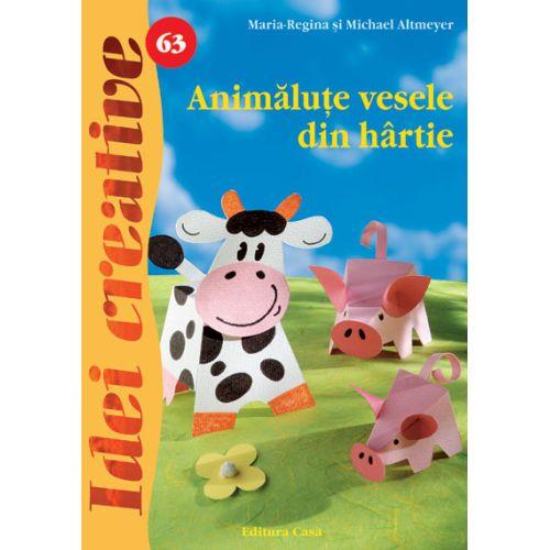 Animalute Vesele din Hartie 63 - Idei Creative