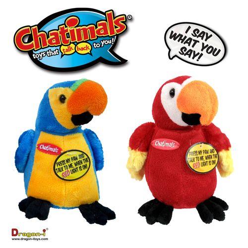 Prieten Chatimals Papagal