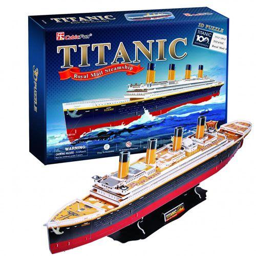 Puzzle 3D Titanic