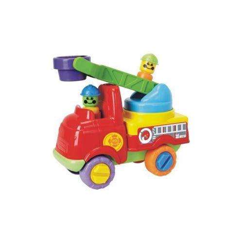 Camion de Pompieri cu Scara pentru Interventii