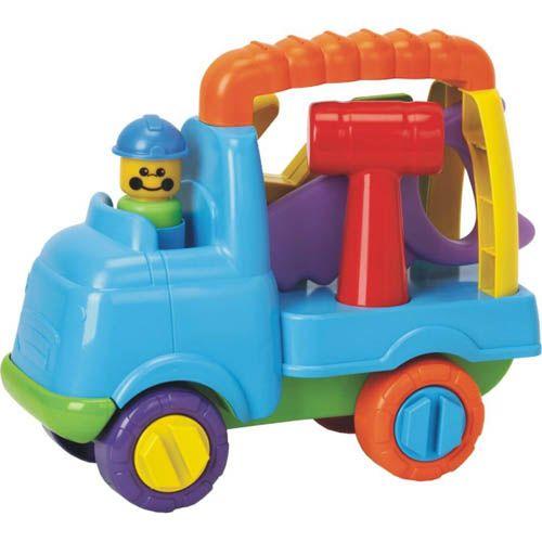 Camion cu Scule Micul Constructor