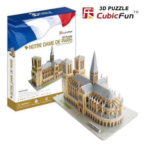 Puzzle 3D Catedrala Notre Dame din Paris