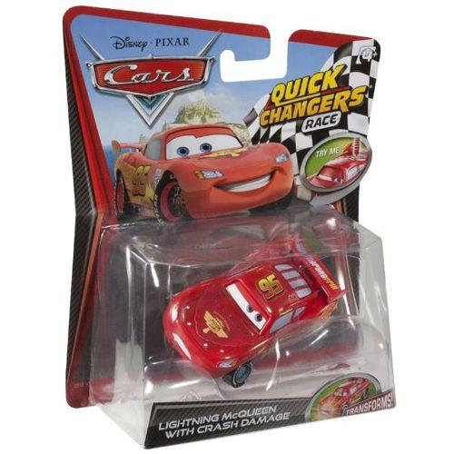 Masinuta Cars 2 Quick Changers Fulger McQueen Race