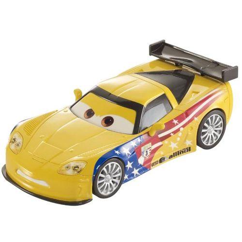 Masinuta Cars 2 care Merge cu Spatele Jeff Corvette