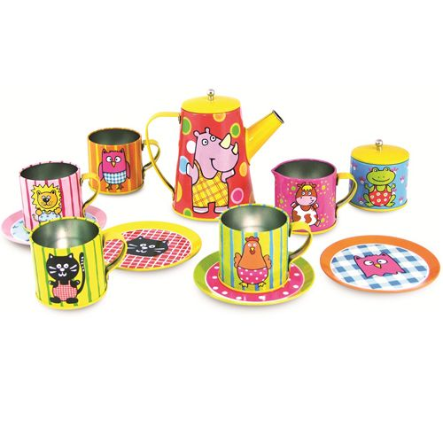Set de Ceai Metal