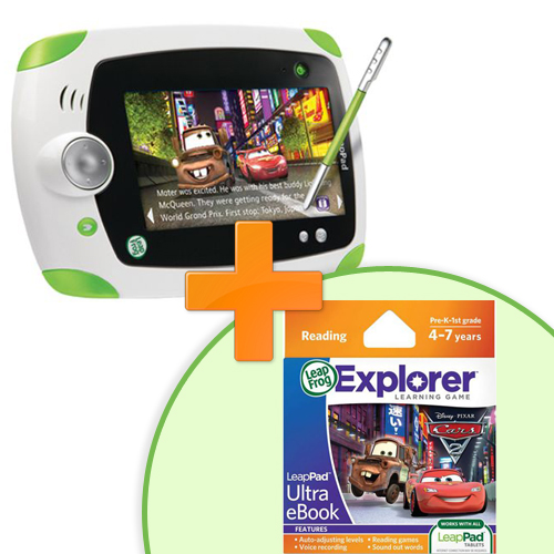 Tableta LeapPad Explorer + Soft Educational Cars 2