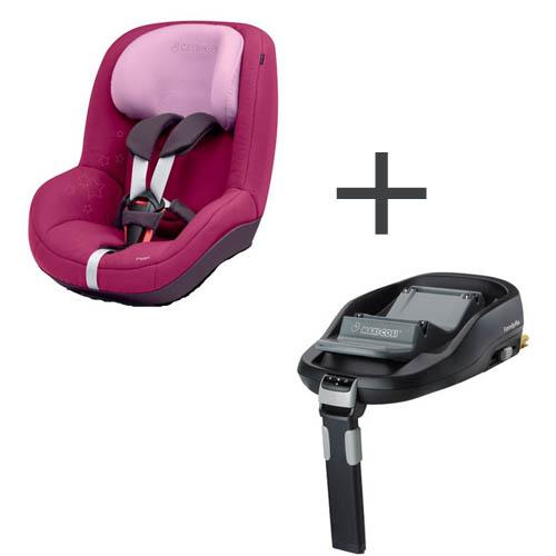 Scaun Auto Pearl + Baza Auto FamilyFix
