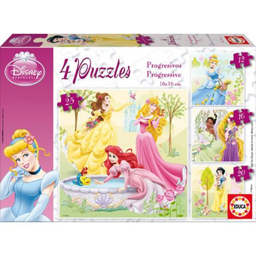 Puzzle Progresiv Printesele Disney