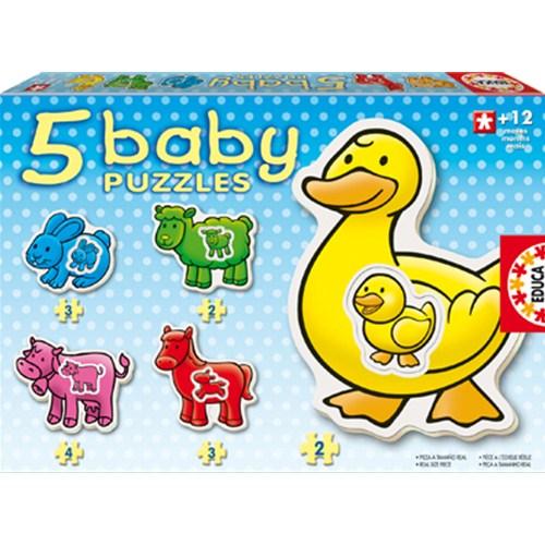 Baby Puzzle Farm