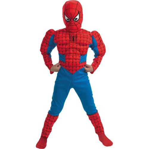 Costum Spiderman cu Muschi