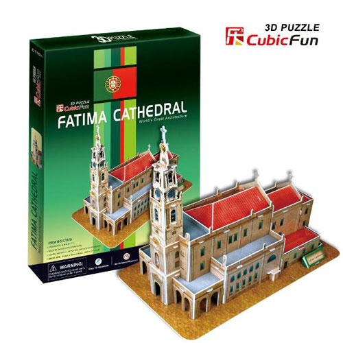 Puzzle 3D Fatima Cathedral