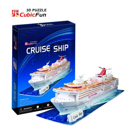 Puzzle 3D Cruise Ship