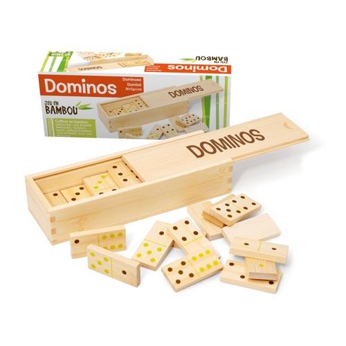 Domino din Bambus