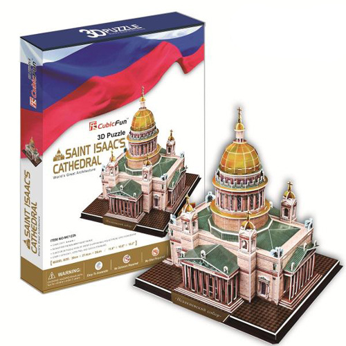 Puzzle 3D Saint Isaac s Cathedral