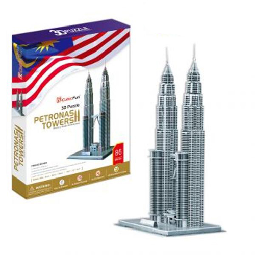 Puzzle 3D Petronas Towers