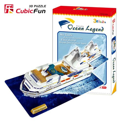 Puzzle 3D Ocean Legend Cruise Ship