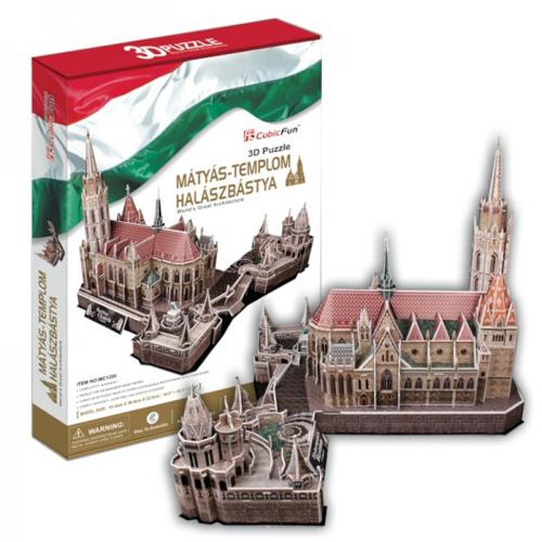 Puzzle 3D Mattias Church FisherMan s Bastion