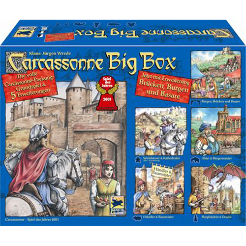 Poza Joc Carcassonne Big Box 4