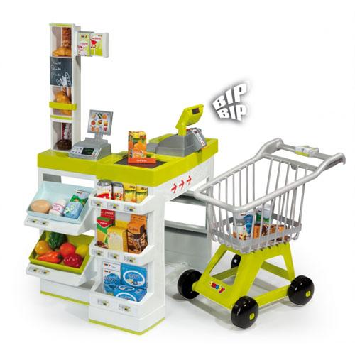 Supermarket cu Cos de Cumparaturi
